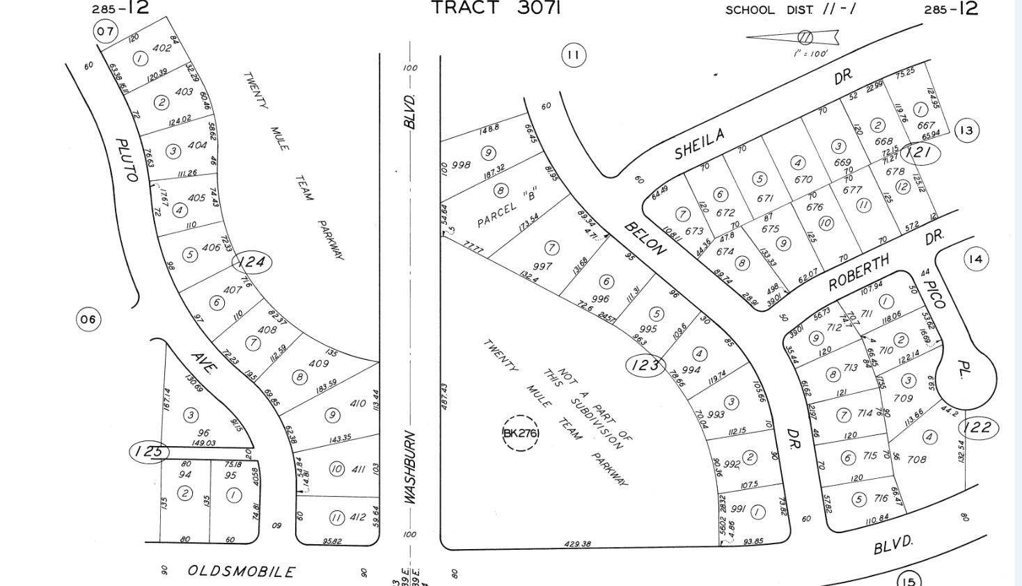 6338 sundown drive 32244 - 8 Plat Map